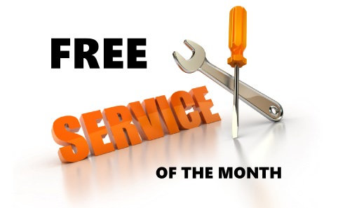 free service of the month